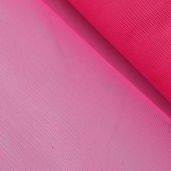 Kreativstoff Tüll Polyester pink 1,4m Breite