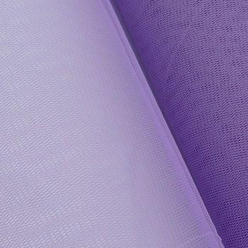 Kreativstoff Tüll Polyester flieder 1,4m Breite