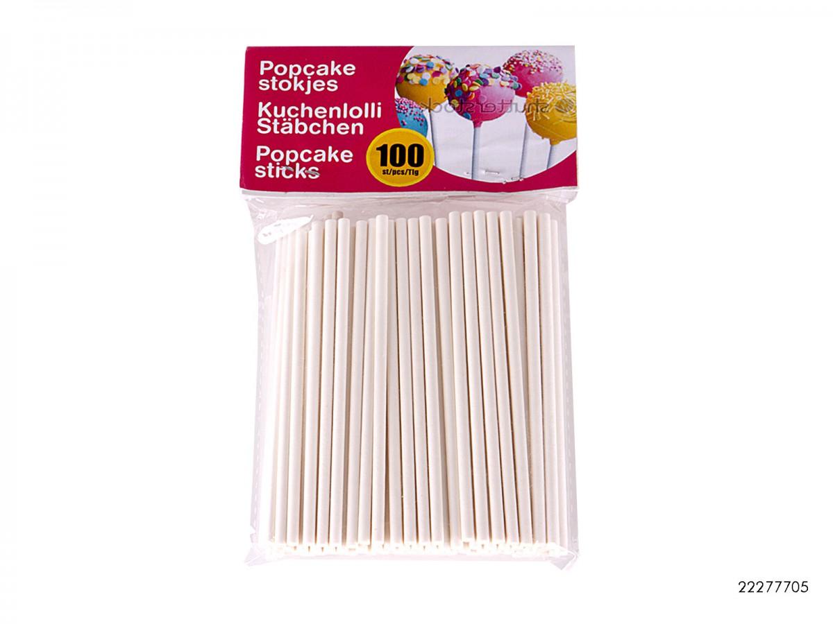 Cakepop Kuchenlolli Stäbchen 80 Stück