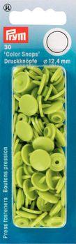 Prym Color Snaps Druckknöpfe Ø12,4mm apfelgrün