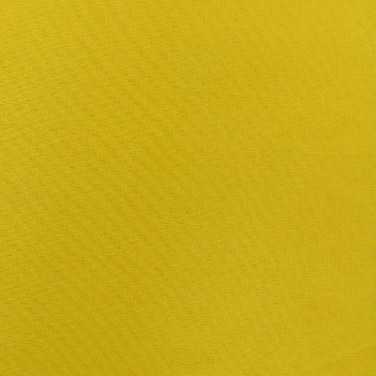 Kreativstoff Baumwollstoff Fahnentuch einfarbig 1,45m sonnengelb
