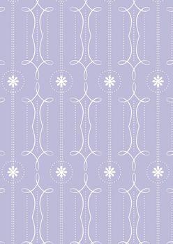 Tante Ema Baumwolle Stoff Frühlingspiruette flieder 50x65