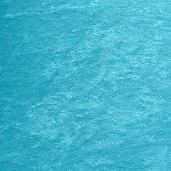 Samtstoff Kreativstoff Pannesamt einfarbig türkis 1,5m