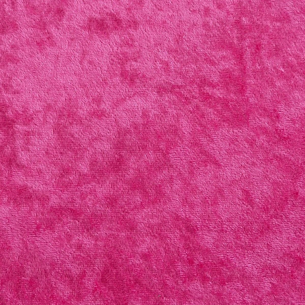 Samtstoff Kreativstoff Pannesamt einfarbig pink 1,5m