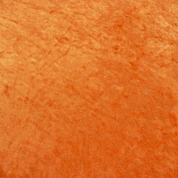 Samtstoff Kreativstoff Pannesamt einfarbig orange 1,5m