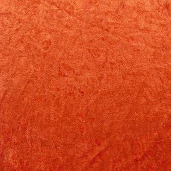 Samtstoff Kreativstoff Pannesamt einfarbig terracotta 1,5m