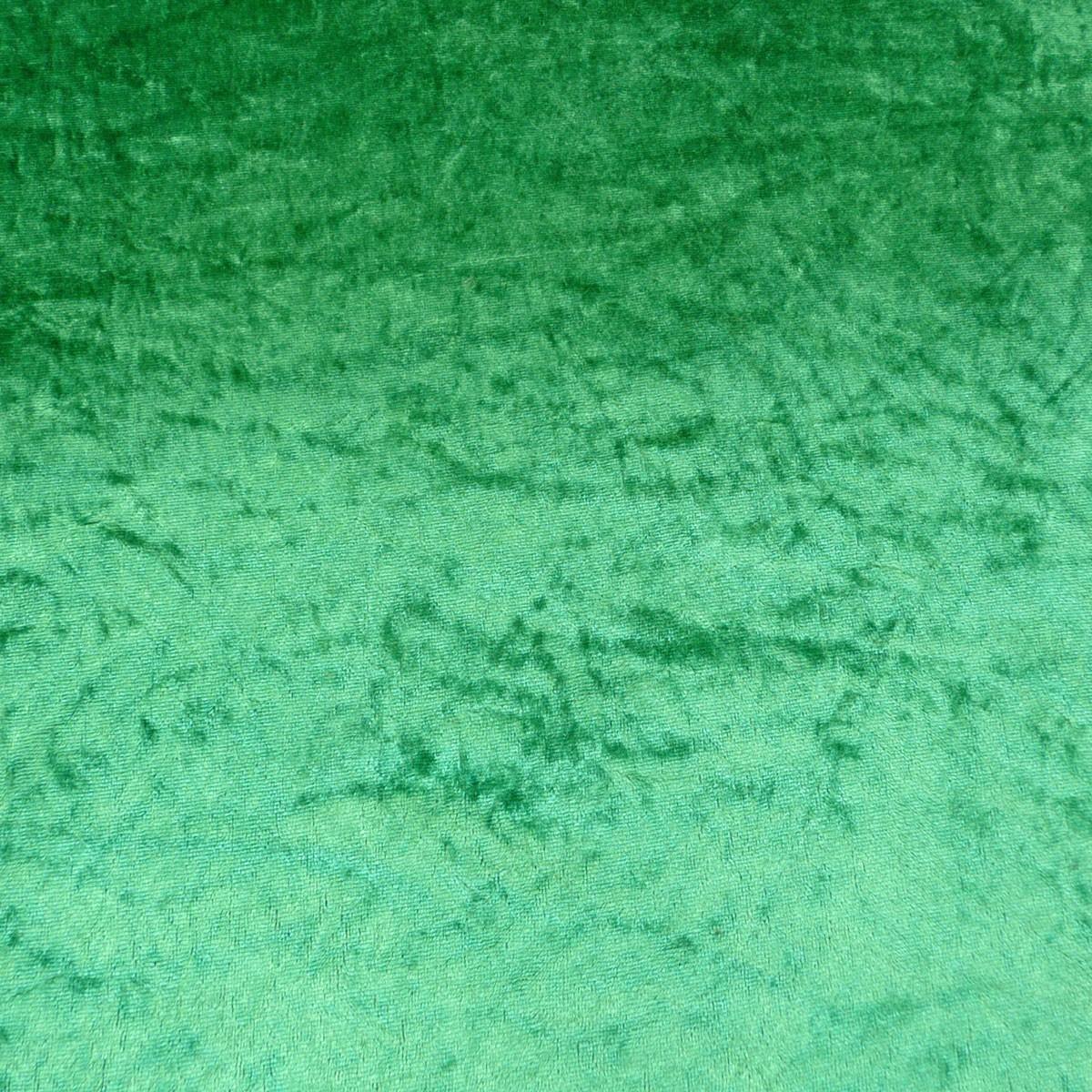 Samtstoff Kreativstoff Pannesamt einfarbig grün 1,5m