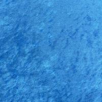 Samtstoff Kreativstoff Pannesamt einfarbig mittelblau 1,5m 001