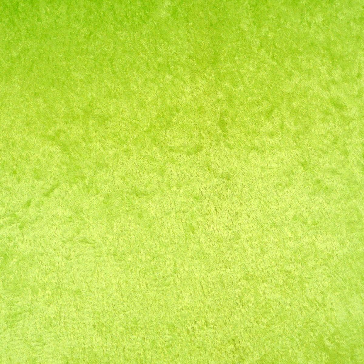 Samtstoff Kreativstoff Pannesamt einfarbig lime limetten grün 1,5m