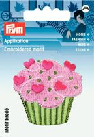 Prym Applikation Muffin Cupcake 4x4cm