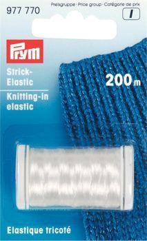 Prym Strick-Elastic Faden transparent 200m Rolle