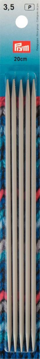 Prym Stricknadeln ALU 4 Stück grau Länge: 20cm Ø3,5mm
