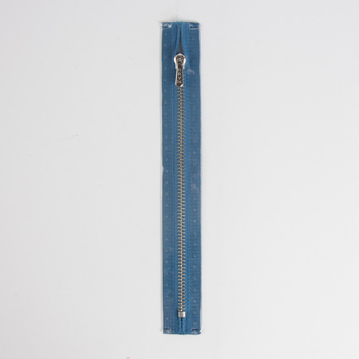 Prym Reißverschluss Metall Col. 235 blau 12cm