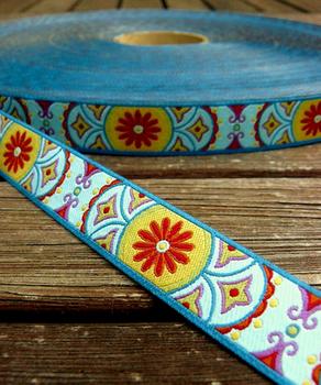 Farbenmix Webband EASTWIND Breite: 1,5cm
