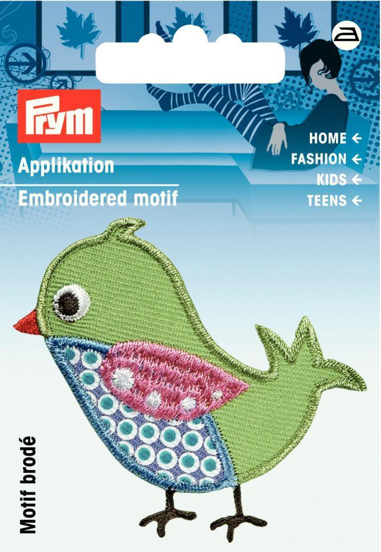 Prym Applikation Vogel 4x5,5m