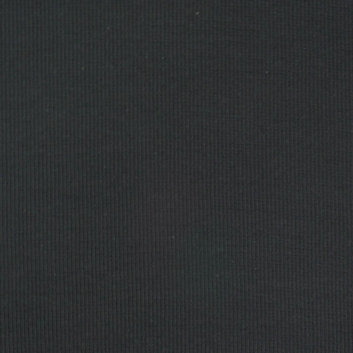 Kreativstoff Strickschlauch Bündchenstoff grob schwarz 27cm Breite