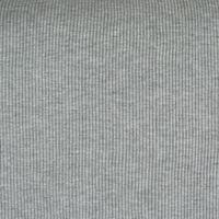 Strickschlauch Bündchenstoff grob hellgrau meliert 40cm Breite 001