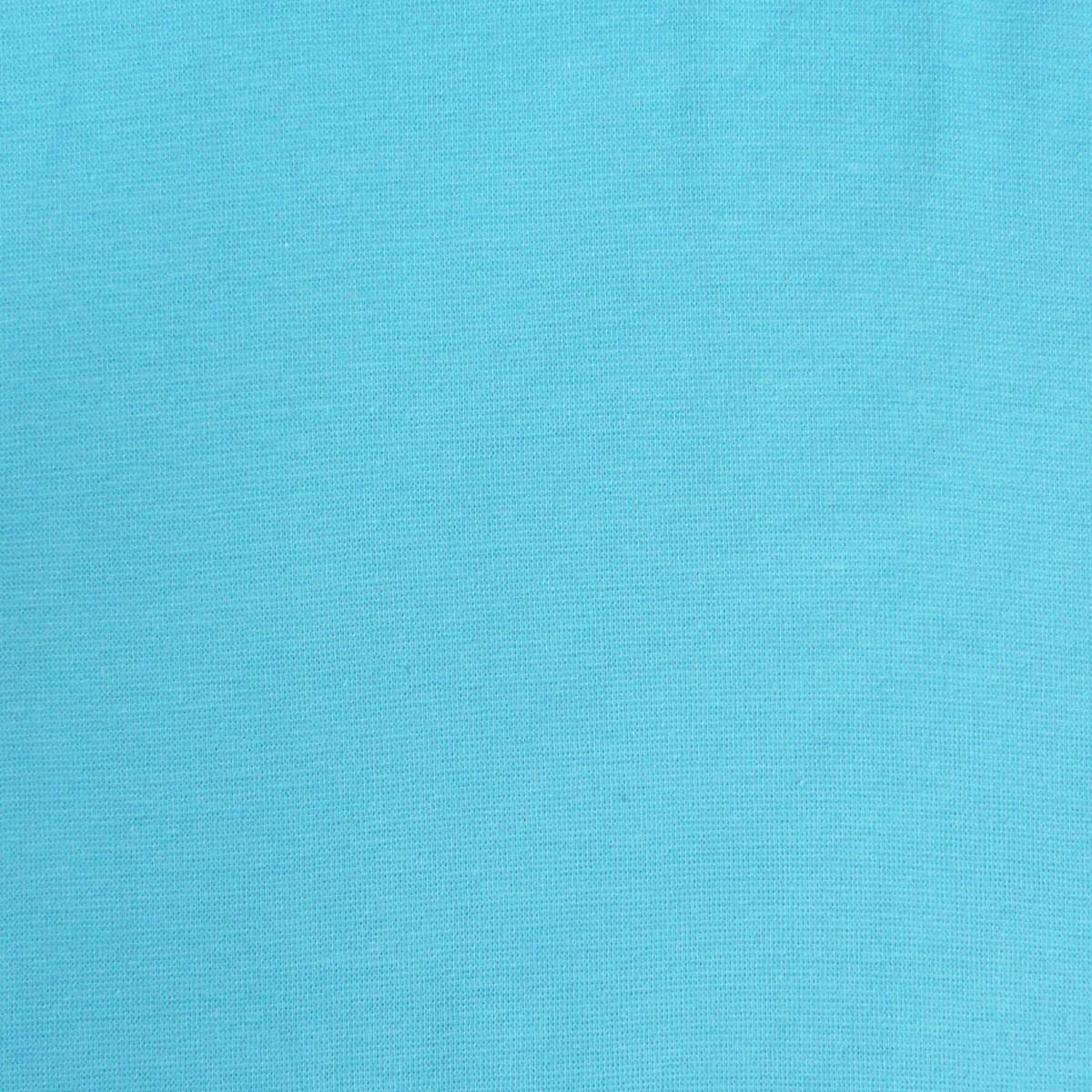 Kreativstoff Strickschlauch Bündchenstoff fein türkis 37cm Breite