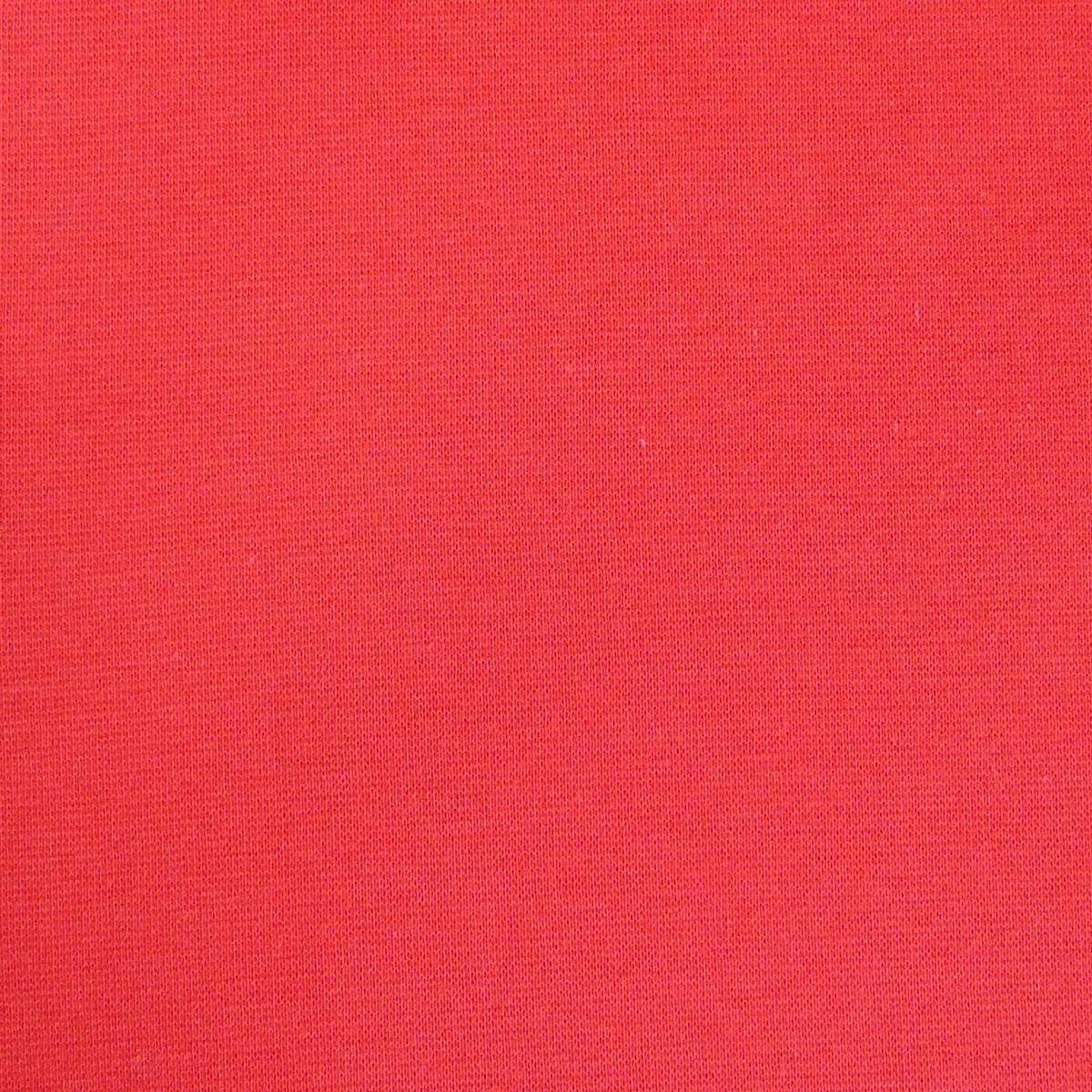 Strickschlauch Bündchenstoff fein rot 37cm Breite