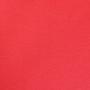 Strickschlauch Bündchenstoff fein rot 30cm Breite