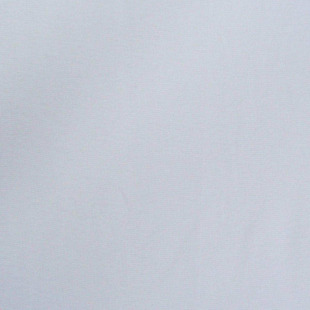 Strickschlauch Bündchenstoff fein weiß 37cm Breite