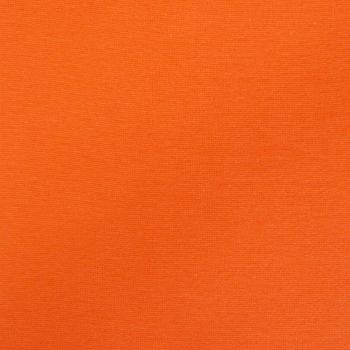 Strickschlauch Bündchenstoff fein orange 37cm Breite