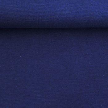 Strickschlauch Bündchenstoff fein dunkelblau 30cm Breite