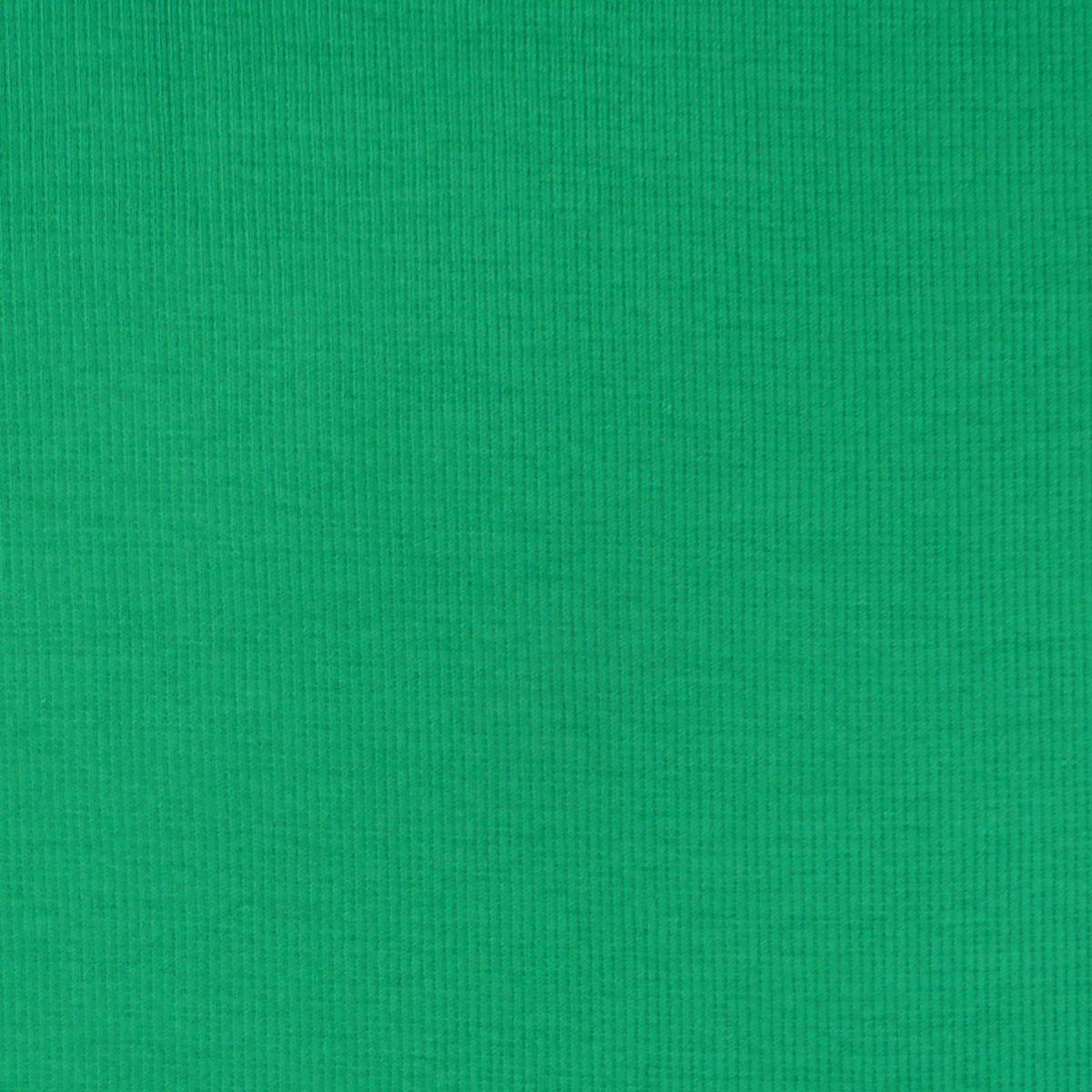 Strickschlauch Bündchenstoff grob grasgrün 27cm Breite