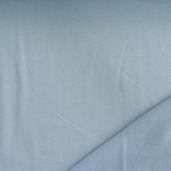 Kreativstoff Sweatstoff einfarbig babyblau 1,5 m Breite