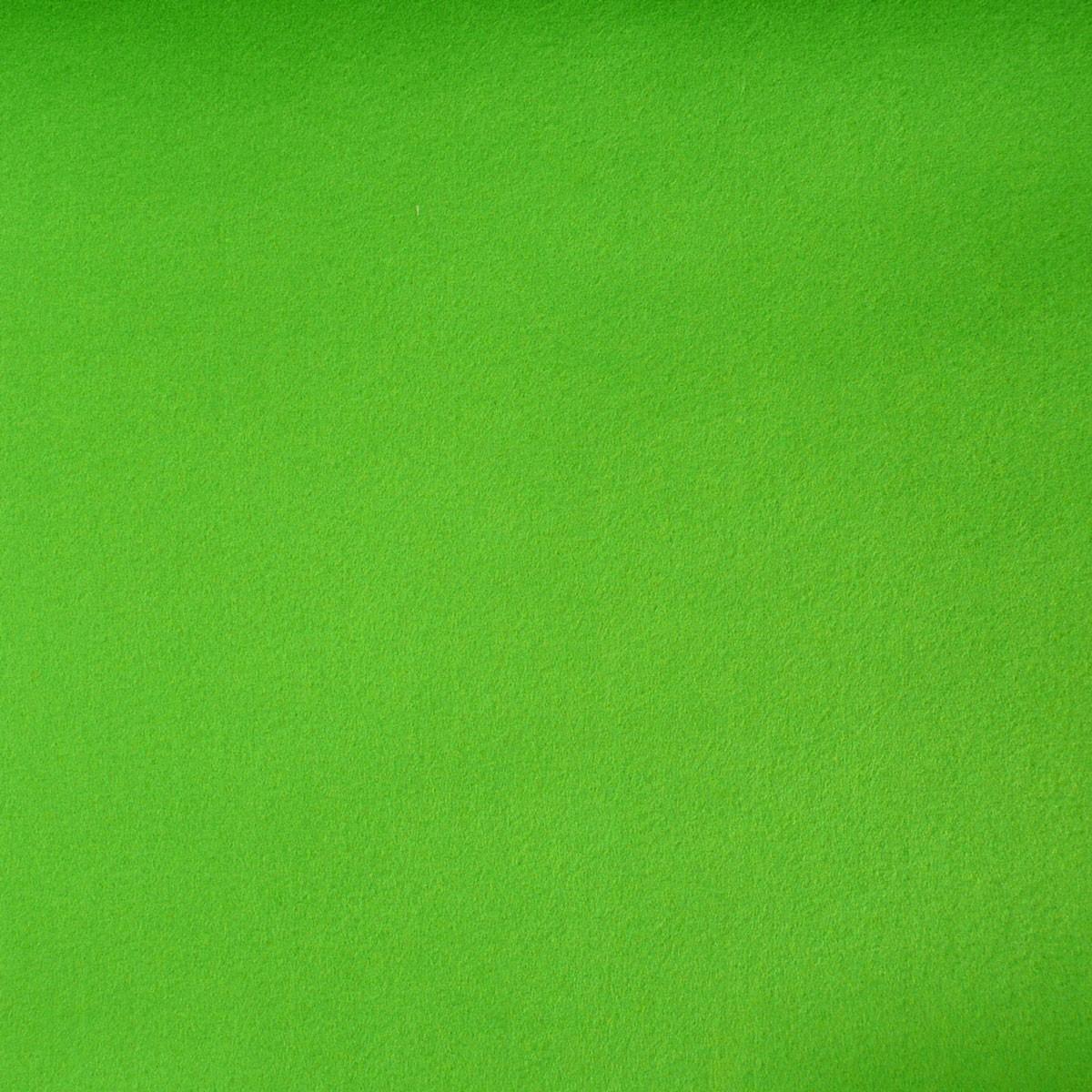 Kreativstoff Bastelfilz einfarbig apfelgrün 45cm Breite 4mm Stärke