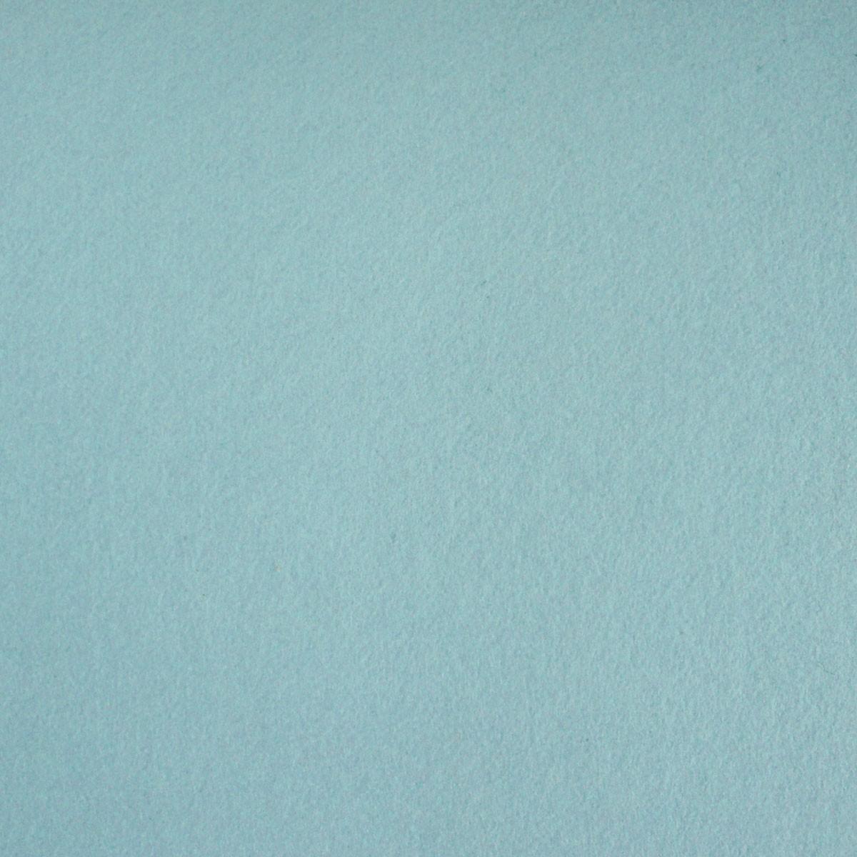 Kreativstoff Bastelfilz einfarbig hellblau 45cm Breite 4mm Stärke