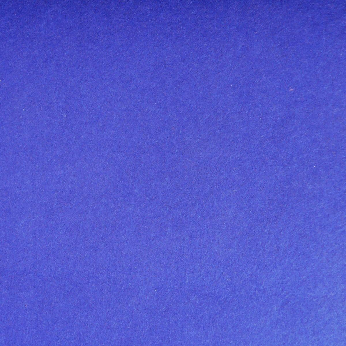Kreativstoff Bastelfilz einfarbig royalblau 45cm Breite 4mm Stärke