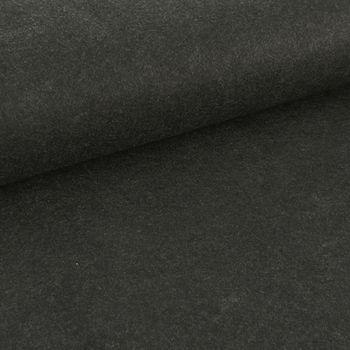 Kreativstoff Filz einfarbig anthrazit meliert 180cm Breite 2mm Stärke