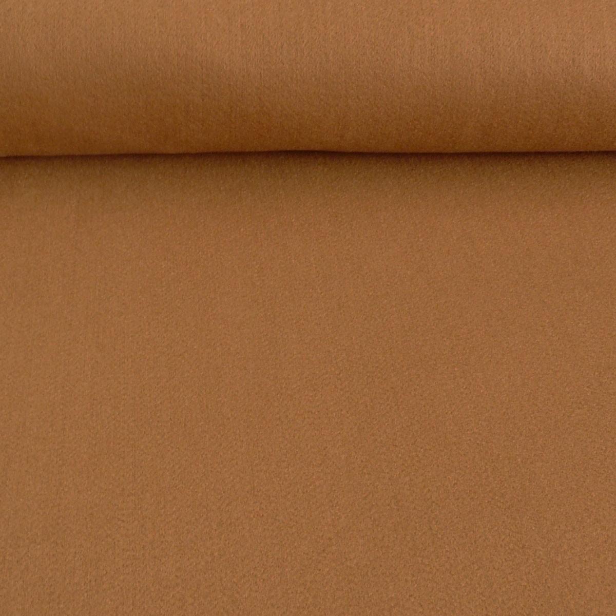 Kreativstoff Filz einfarbig hellbraun 180cm Breite 2mm Stärke