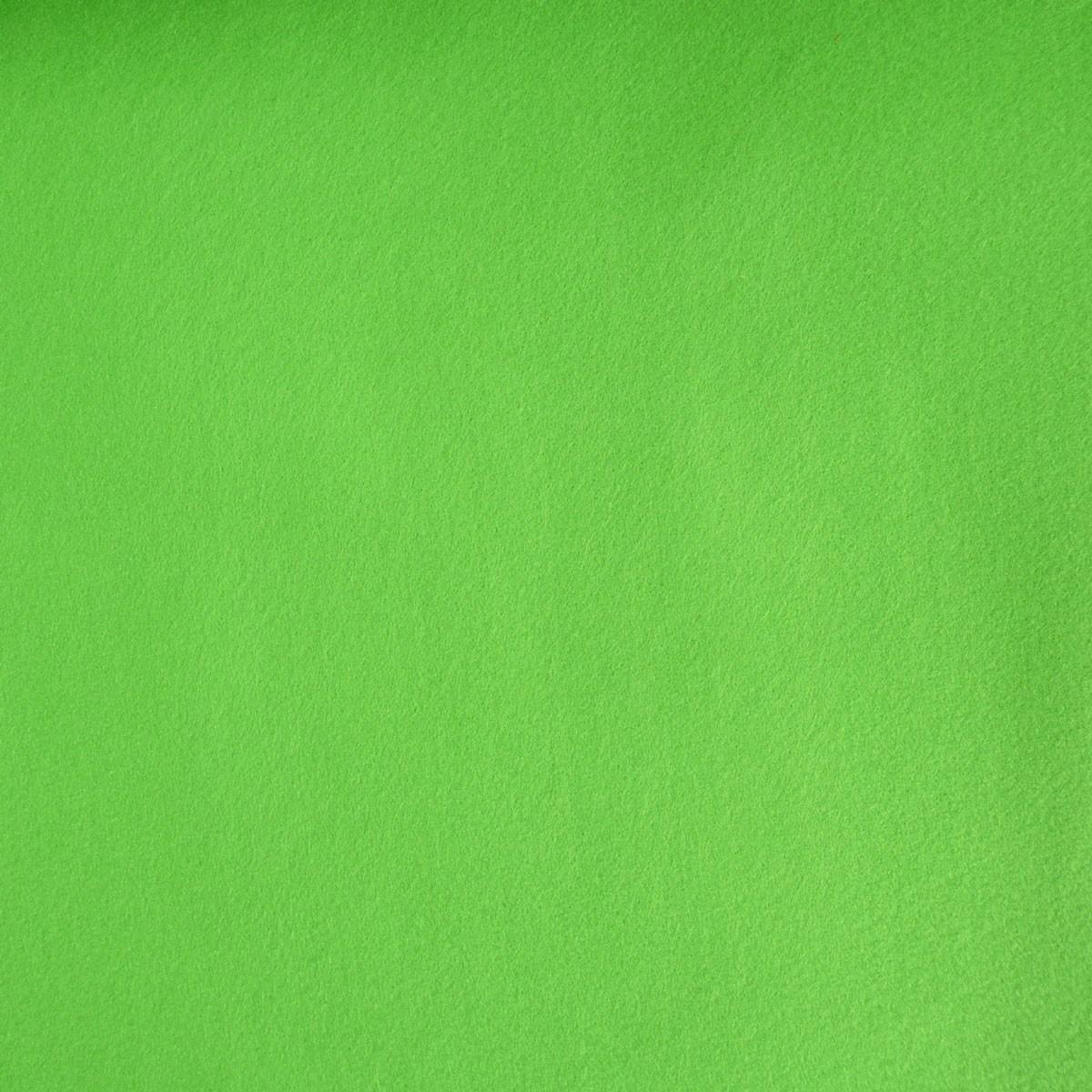 Kreativstoff Filz einfarbig apfelgrün 180cm Breite 2mm Stärke