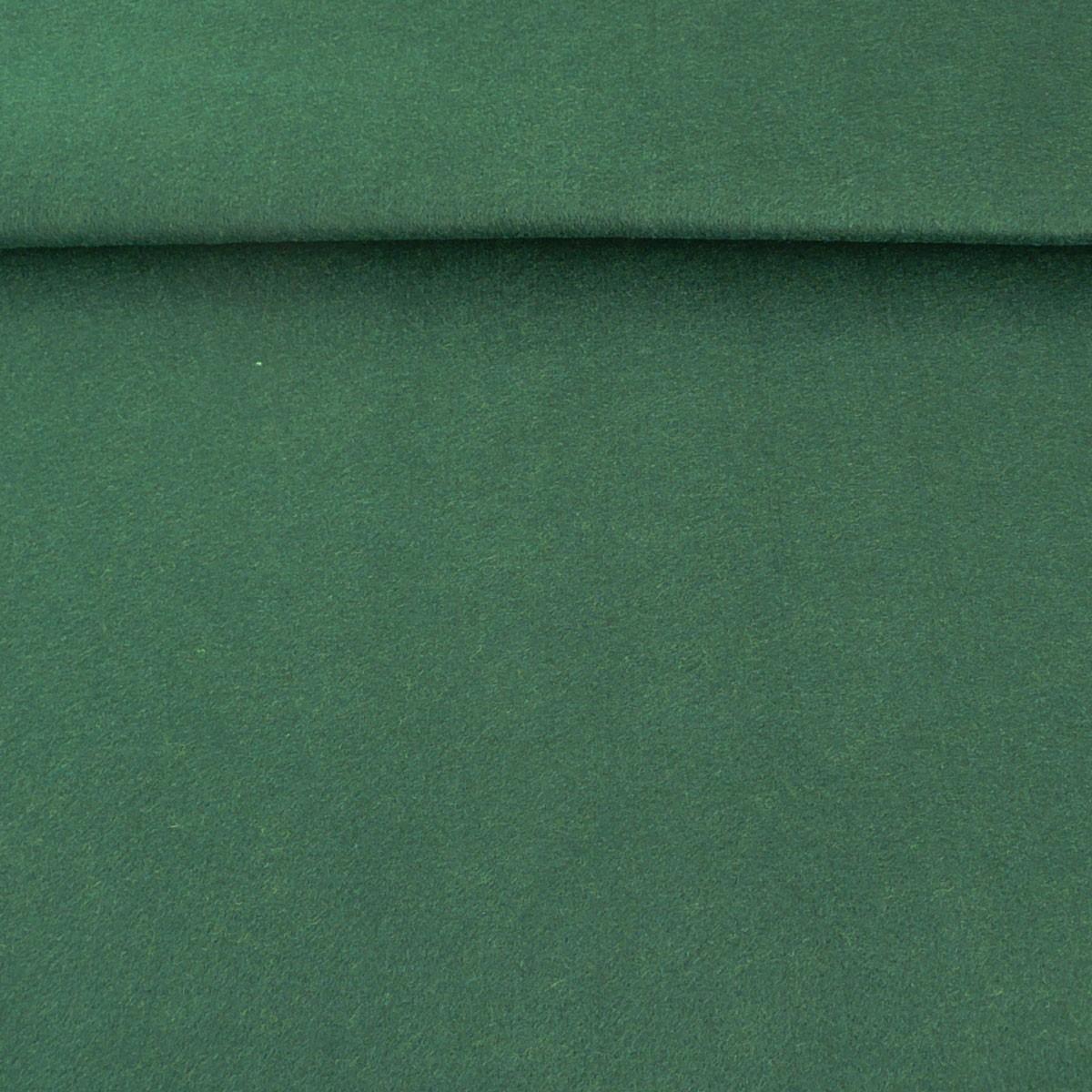 Kreativstoff Filz einfarbig tannengrün 180cm Breite 2mm Stärke