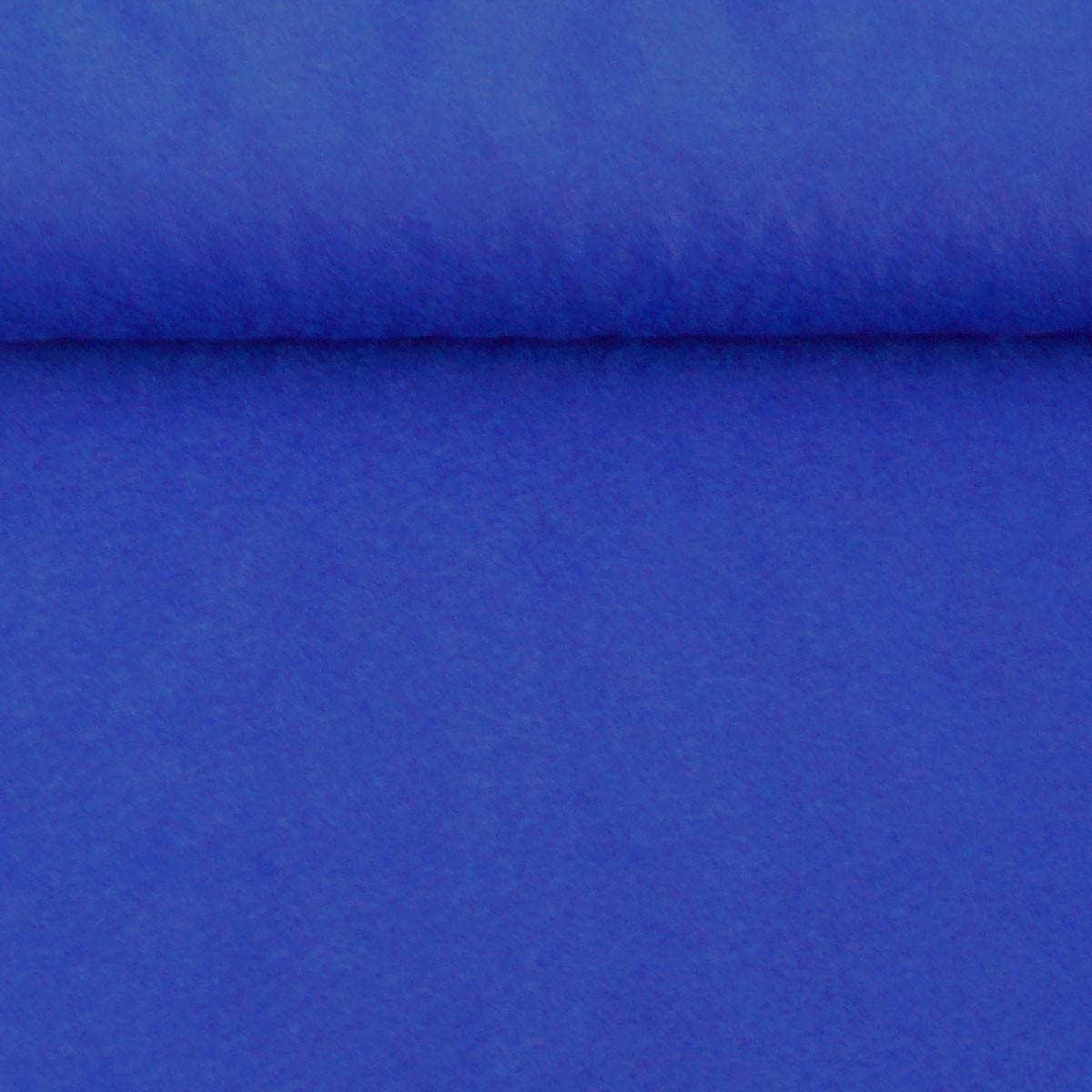 Kreativstoff Filz einfarbig royalblau königsblau 180cm Breite 2mm Stärke