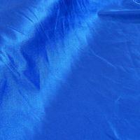 Glanzjersey Glanzstoff Fasching Bekleidungsstoff royalblau 1,5m Breite
