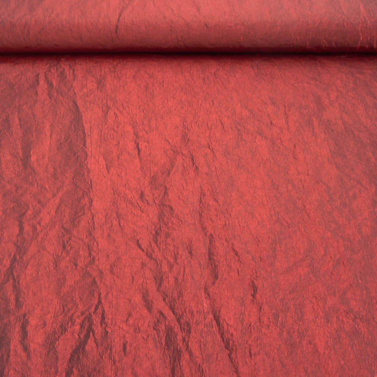 Bekleidungsstoff Taft dunkelrot 1,4m Breite