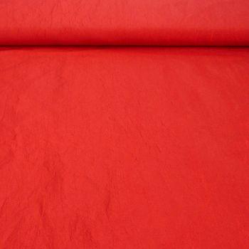 Bekleidungsstoff Taft rot 1,4m Breite