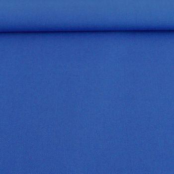 Kreativstoff Baumwollstoff Canvas einfarbig royalblau 1,4m Breite