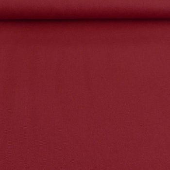 Baumwollstoff Canvas einfarbig dunkelrot 1,4m Breite