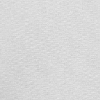 Kreativstoff Baumwollstoff Canvas einfarbig weiß 1,4m Breite