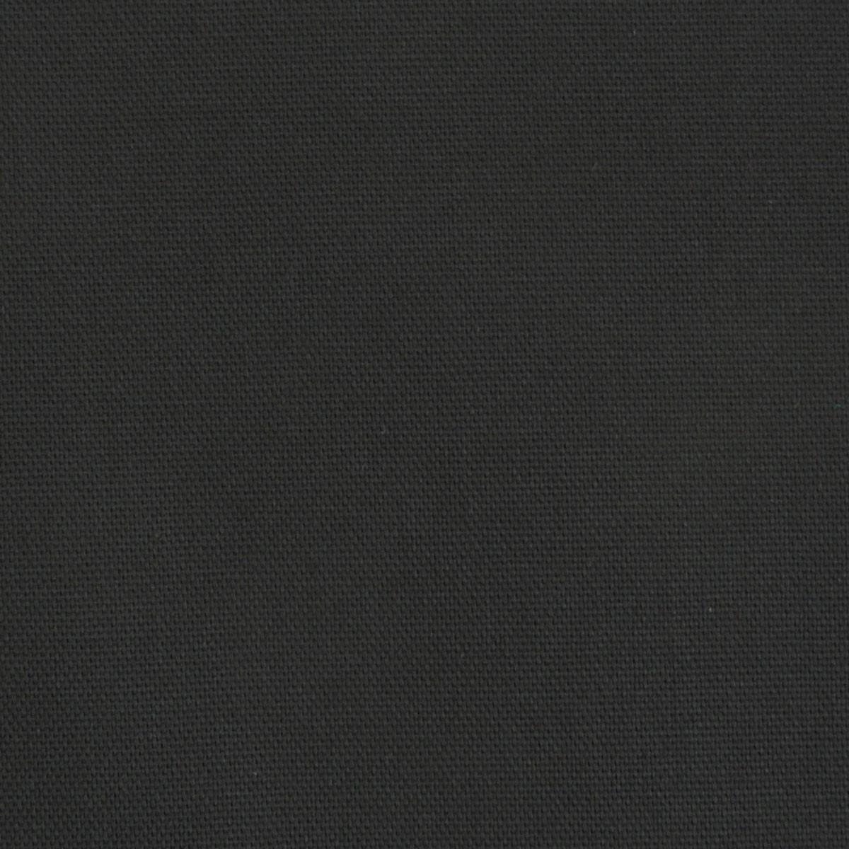 Kreativstoff Baumwollstoff Canvas einfarbig schwarz 1,4m Breite