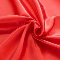 Kreativstoff Satinstoff einfarbig rot 1,4m Breite