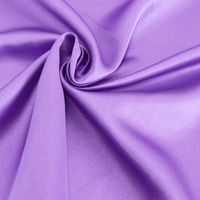 Kreativstoff Satinstoff einfarbig lila 1,4m Breite