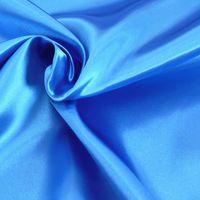 Kreativstoff Satinstoff einfarbig royalblau 1,4m Breite 001