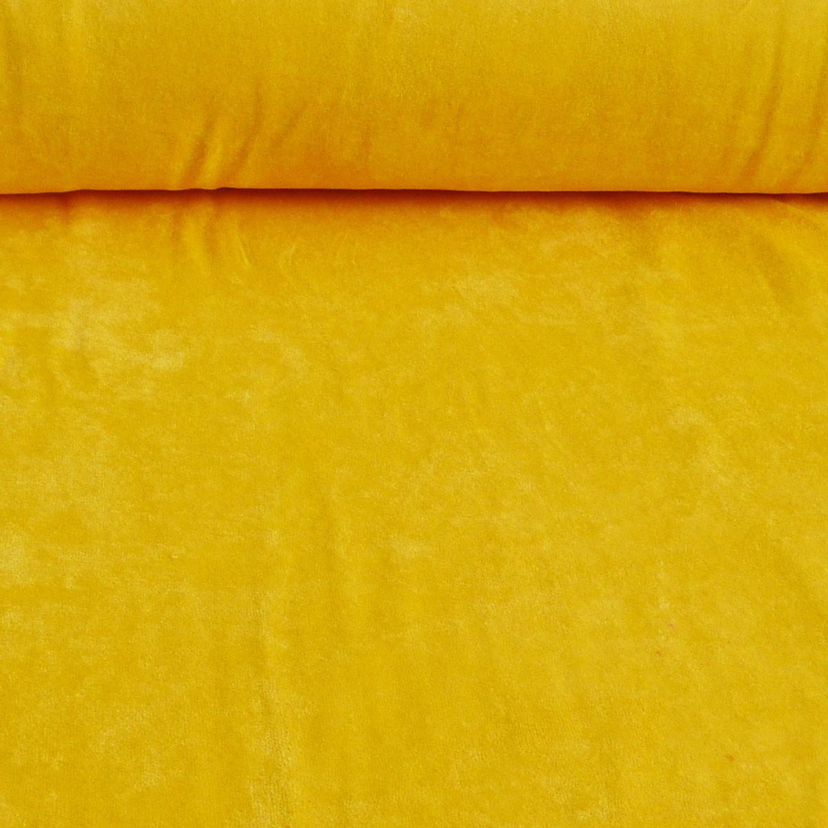 Bekleidungsstoff Nicky einfarbig gelb