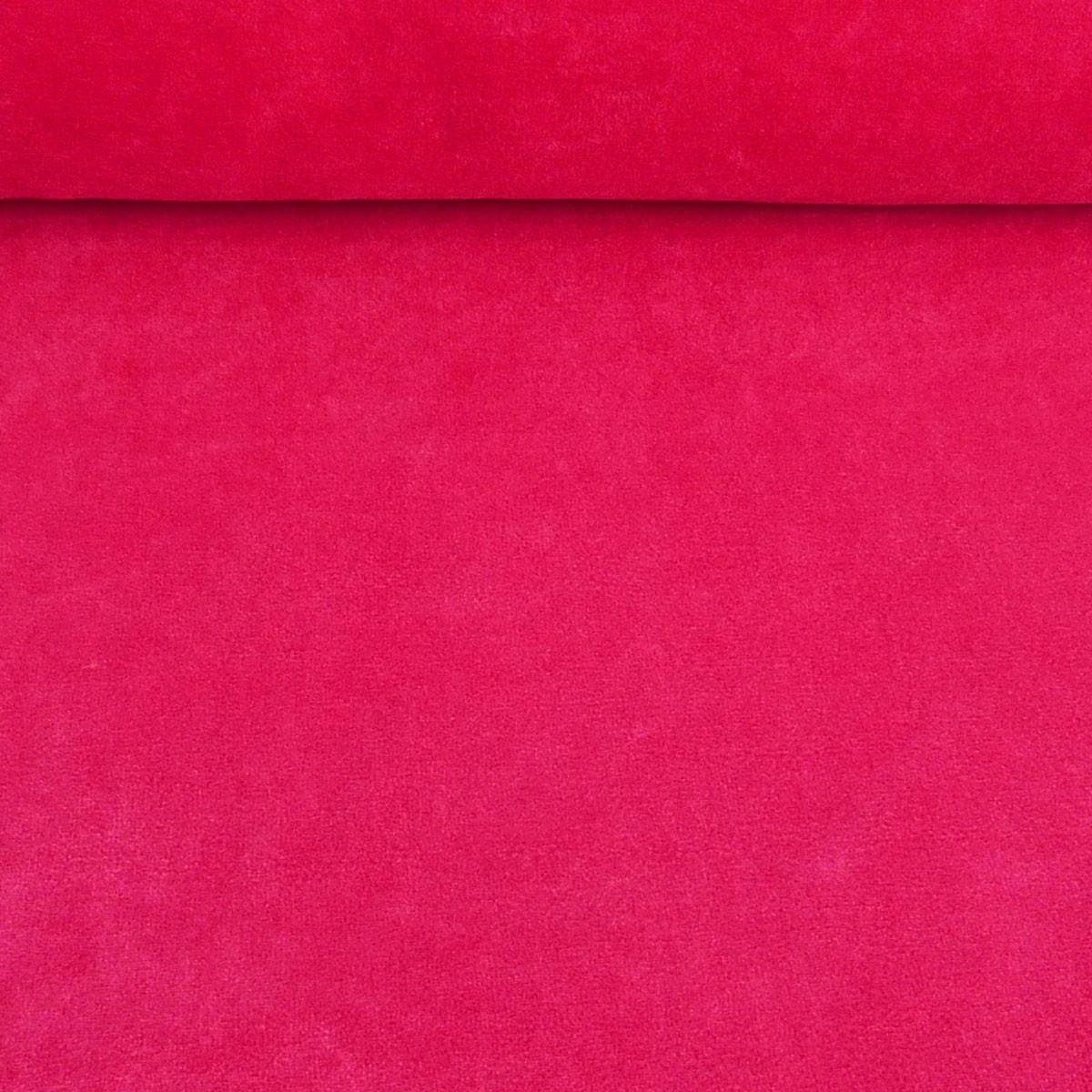 Bekleidungsstoff Nicky einfarbig pink