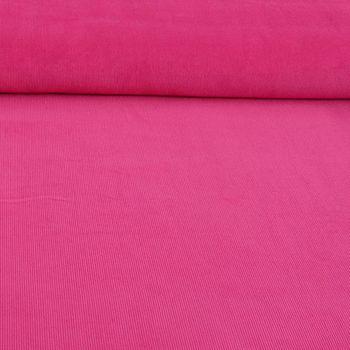 Bekleidungsstoff Cord einfarbig pink – Bild 1